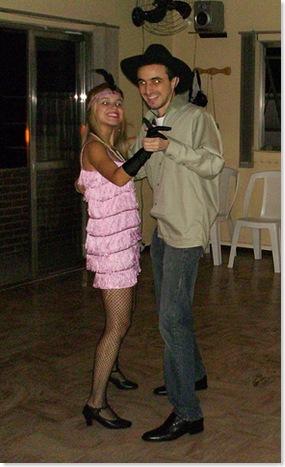 Dançando Bolero - Eu e a Estela.